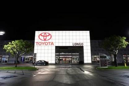 Longo Toyota Front - Night Hi-Res 2